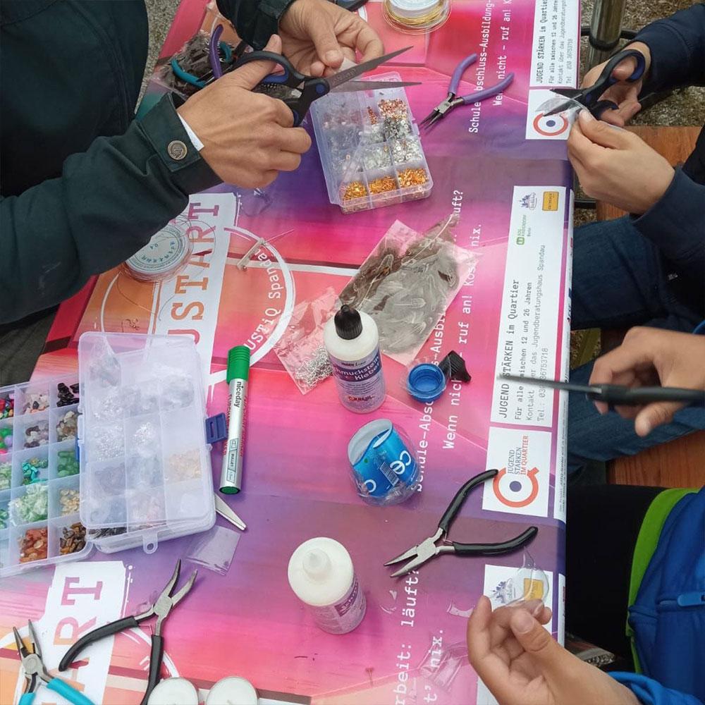 Die kiezküchen gmbh beim Demokratiefestival in der Zitadelle Spandau